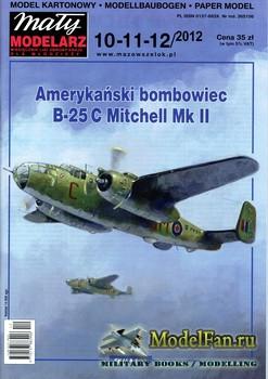 Maly Modelarz №10-11-12 (2012) - B-25 Mitchell Mk II