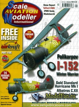 Scale Aviation Modeller International (January 2006) Vol.12 №1