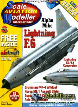 Scale Aviation Modeller International (June 2006) Vol.12 №6
