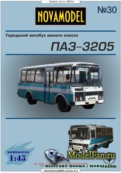 Novamodel №30 - Городской автобус малого класса ПАЗ-3205