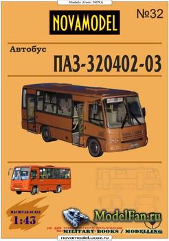 NovaModel №32 - Автобус ПАЗ-320402-03