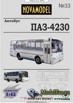 NovaModel №33 - Автобус ПАЗ-4230