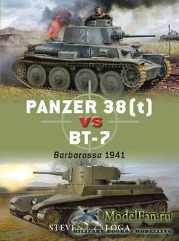 Osprey - Duel 78 -  Panzer 38(t) vs BT-7
