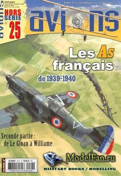 Avions Hors-Serie №25 - Les As Francais 1939-1940: de Le Gloan a Williame