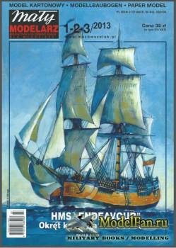 Maly Modelarz 1-2-3/2013 - HMS Endeavour