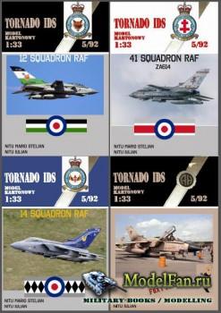 Halinski - Model Kartonowy 5/1992 - Tornado IDS (Перекрас)