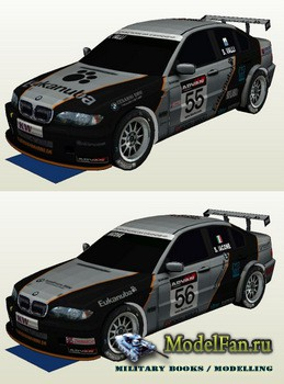 Atlantic3D - BMW 320i WTCC E46 #55-56 2007