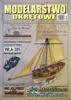 Modelarstwo Okretowe №22 Spec (2/2016) - HMS ''Speedy'', 1828 r.