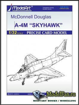 ModelArt - Skyhawk A-4N