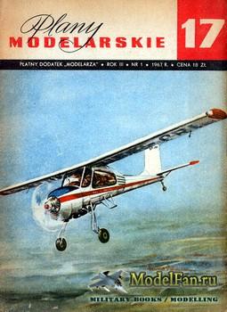 Plany Modelarskie №17 (1/1967) - PZL-104 Wilga