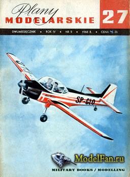 Plany Modelarskie №27 (5/1968) - PZL-102 Kos