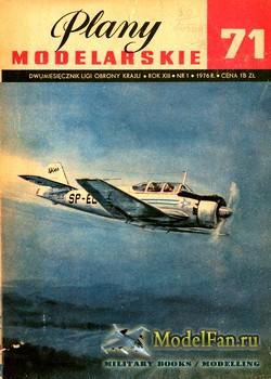 Plany Modelarskie №71 (1/1976) - TS-8 Bies