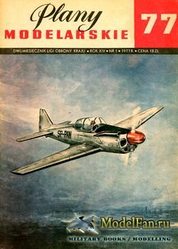 Plany Modelarskie №77 (1/1977) - PZL M-4 Tarpan