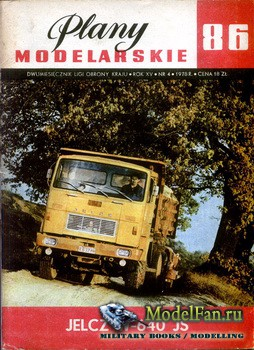 Plany Modelarskie №86 (4/1978) - Jelcz W-640 JS, Ursus C-385