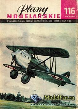 Plany Modelarskie №116 (6/1983) - Bartel BM-5a, BM-6a i BM-6a II