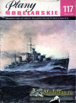 Plany Modelarskie №117 (1/1984) - HMS Penelope