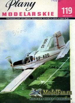 Plany Modelarskie №119 (3/1984) - Zlin-42m