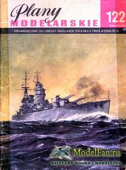 Plany Modelarskie №122 (6/1984) - HMS Rodney