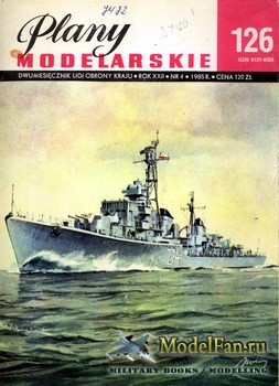 Plany Modelarskie №126 (4/1985) - ORP Wicher II