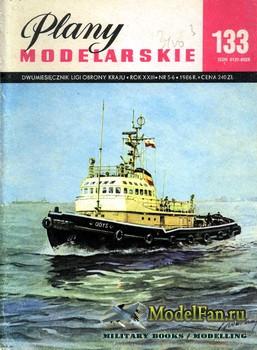 Plany Modelarskie №133 (5-6/1986) - Holowniki Odys & Arion