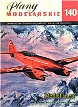 Plany Modelarskie №140 (1/1988) - DH88 Voyager