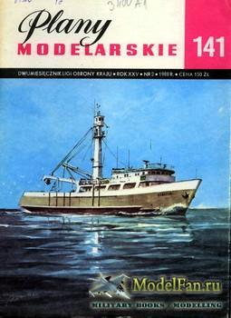 Plany Modelarskie №141 (2/1988) - Seiner tunczykowy B-415 Albatun