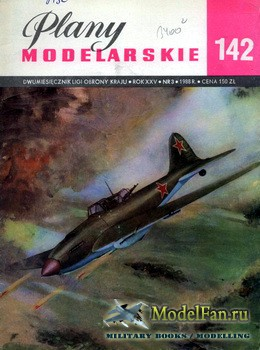 Plany Modelarskie №142 (3/1988) - IL-2