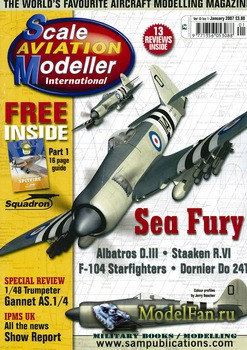 Scale Aviation Modeller International (January 2007) Vol.13 №1