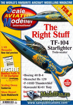 Scale Aviation Modeller International (January 2009) Vol.15 №1