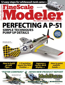 FineScale Modeler Vol.36 №1 (January 2018)