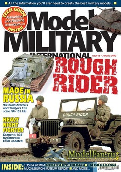 Model Military International Issue 45 (January 2010)