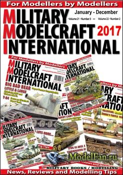 Military Modelcraft International - Подборка журнала за 2017 год