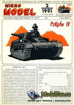 Mikro Model 2/1991 - Pz.Kpfw. IV
