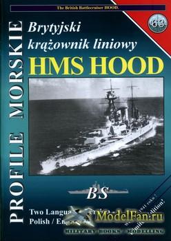 Profile Morskie 63 - HMS Hood