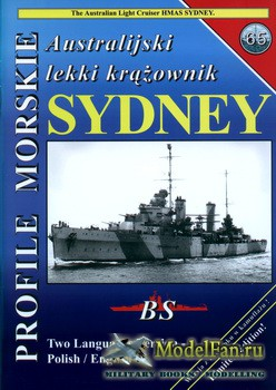 Profile Morskie 65 - The Australian Light Cruiser HMAS Sydney