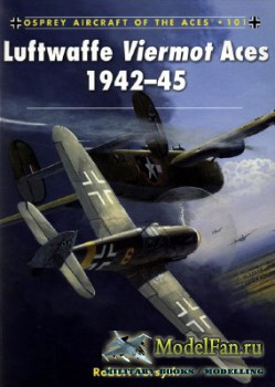 Osprey - Aircraft of the Aces 101 - Luftwaffe Viermot Aces 1942-45