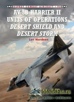 Osprey - Combat Aircraft 90 - AV-8B Harrier II Units of Operations Desert S ...