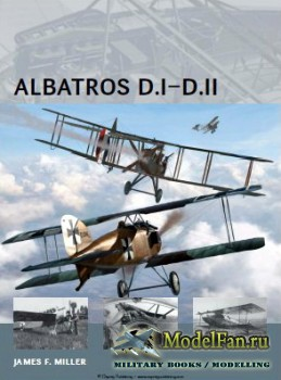 Osprey - Air Vanguard 5 - Albatros D.I-D.II