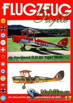 Flugzeug Profile Nr.17 - de Havilland D.H.82 Tiger Moth