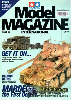 Tamiya Model Magazine International №86 (June/July 2001)
