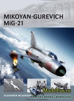 Osprey - Air Vanguard 14 - Mikoyan-Gurevich MiG-21