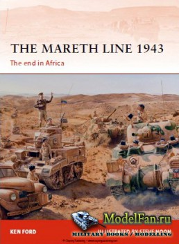 Osprey - Campaign 250 - The Mareth Line 1943. The end in Africa