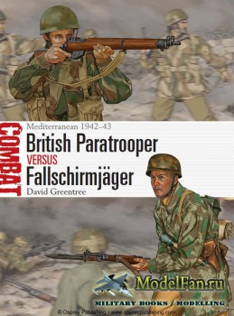 Osprey - Combat 1 - British Paratrooper vs Fallschirmjager. Mediterranean 1 ...