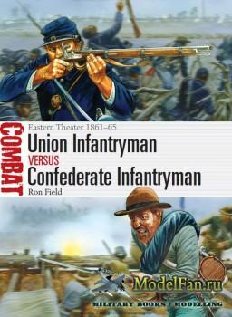 Osprey - Combat 2 - Union Infantryman vs Confederate Infantryman. Eastern T ...