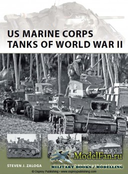 Osprey - New Vanguard 186 - US Marine Corps Tanks of World War II