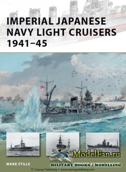 Osprey - New Vanguard 187 - Imperial Japanese Navy Light Cruisers 1941-45