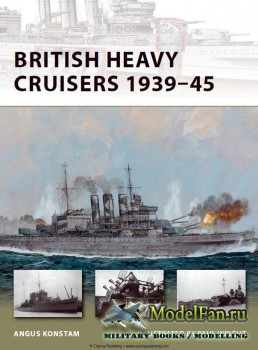 Osprey - New Vanguard 190 - British Heavy Cruisers 1939-45