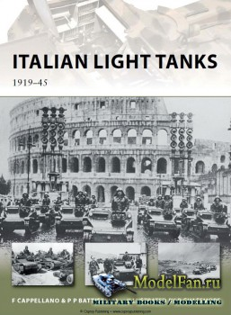 Osprey - New Vanguard 191 - Italian Light Tanks 1919-45