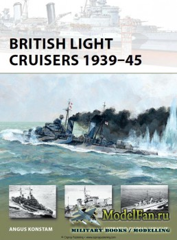 Osprey - New Vanguard 194 - British Light Cruisers 1939-45