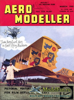 Aeromodeller (March 1965)